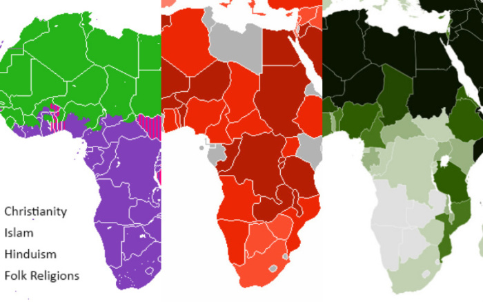 Africa Religion Map 12 Hopeful Maps & Graphs of Religion in Africa | ChurchPOP