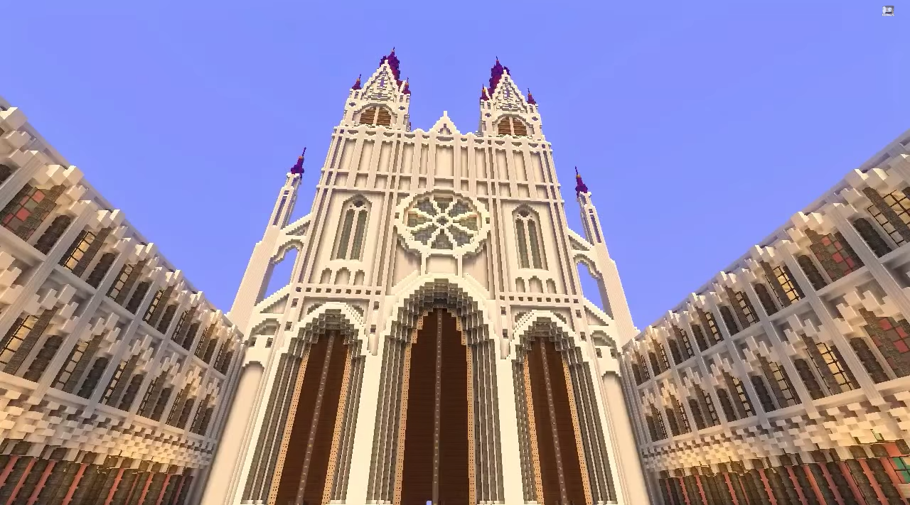 The Cathedrals Of Minecraft 8 Mind Blowing Creations