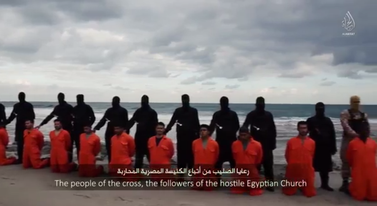 The Names Of The 21 Coptic Martyrs Of Libya ChurchPOP