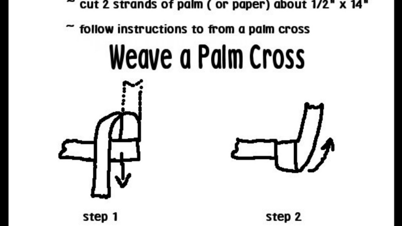 How to Make a Cross Out of Your Palm in 6 Easy Steps | ChurchPOP
