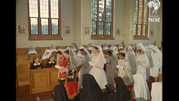 What A Ceremony For Nuns Vows Looked Like In 1962