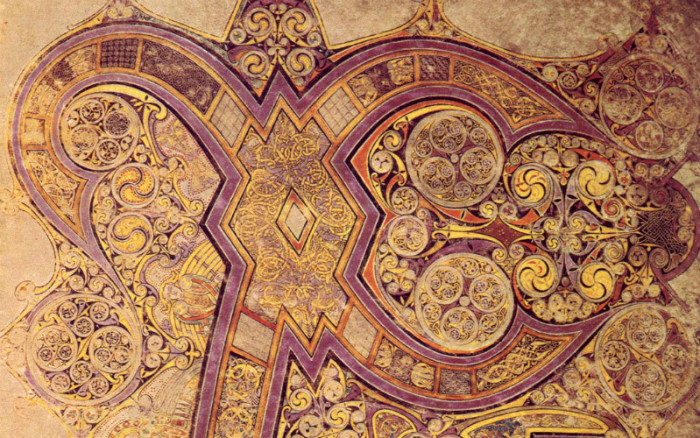 21 Breathtaking Images From The Mysterious Book Of Kells