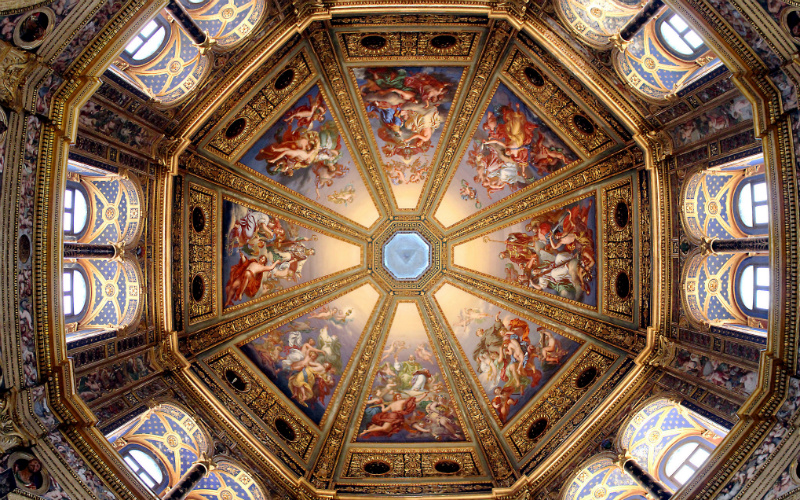 21 Absolutely Breathtaking Church Ceilings From Around The