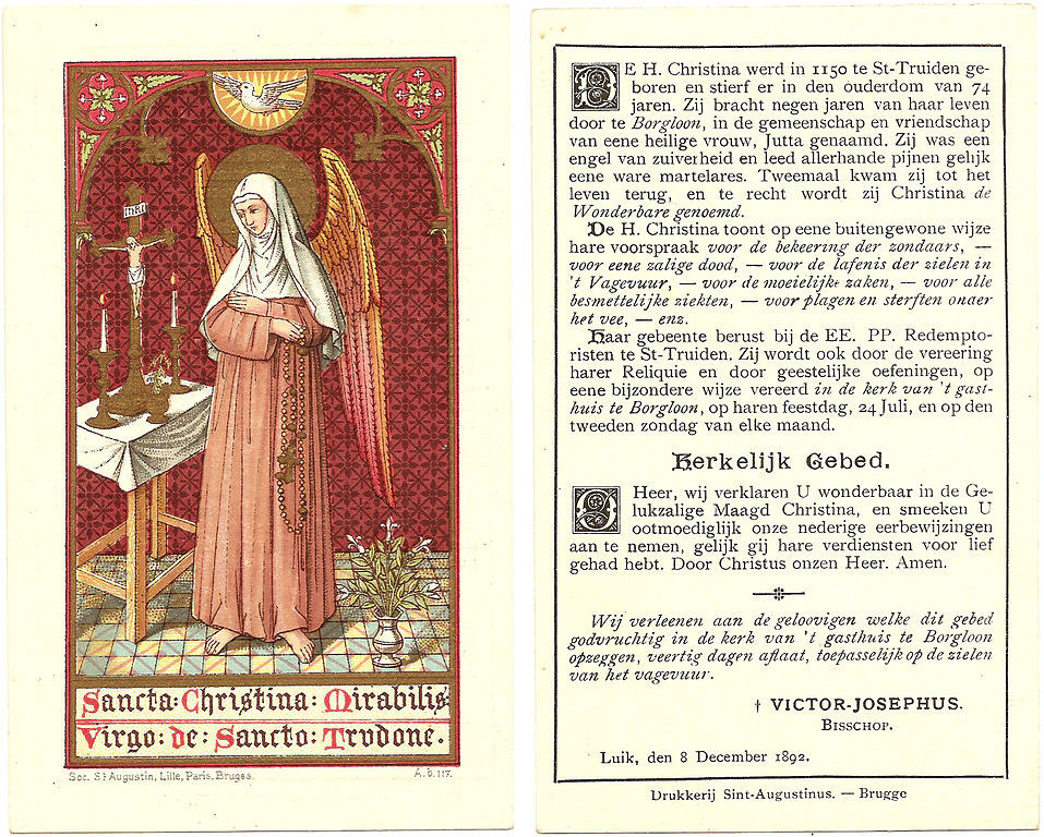 A 19th century prayer card approved by a bishop. / Public Domain, Patrick3Lopez, Wikipedia / ChurchPOP