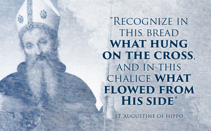 40 Of The Most Profound Quotes Of The Church Fathers On The Eucharist Interesting Profound Quotes