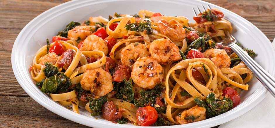 Shrimp Fra Diavolo with Vermicelli Recipe - F&W Test ...