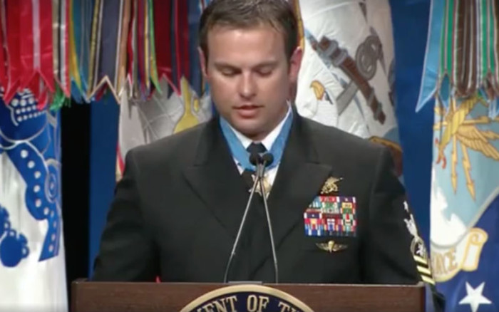 Medal of Honor Recipient Credits St. Michael Prayer for Protection