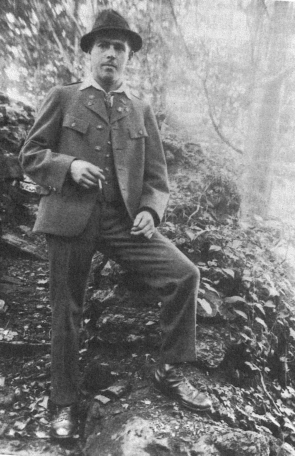 Franz Jagerstatter refused to support the Nazis, despite the pressure his village placed on him./Styria Verlag. Used with permission