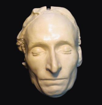 "The ""death mask"" of Blaise Pascal. / Mary trump, Public Domain, Wikipedia"