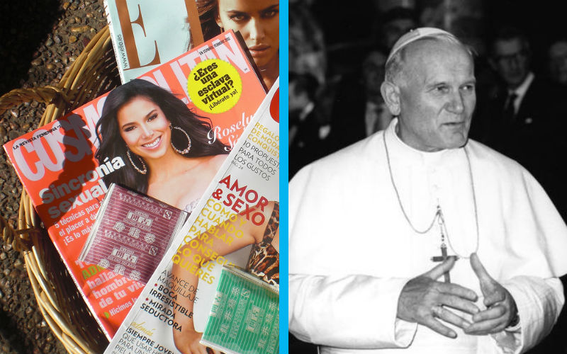 """Cosmo Article Cites """"Theology of the Body"""" in Defense of Waiting Until Marriage 