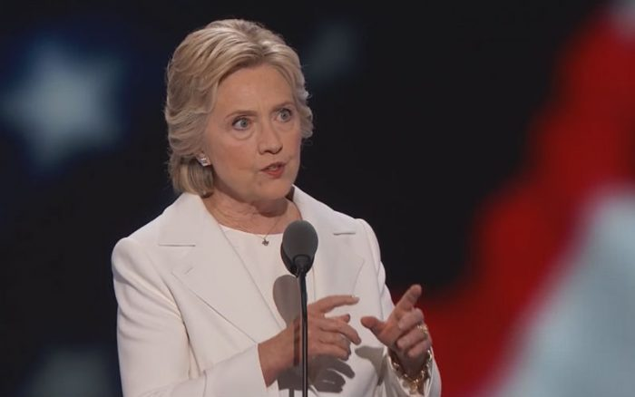 "Hillary Clinton Takes ""God"" Out of the U.S. Motto in DNC ..."