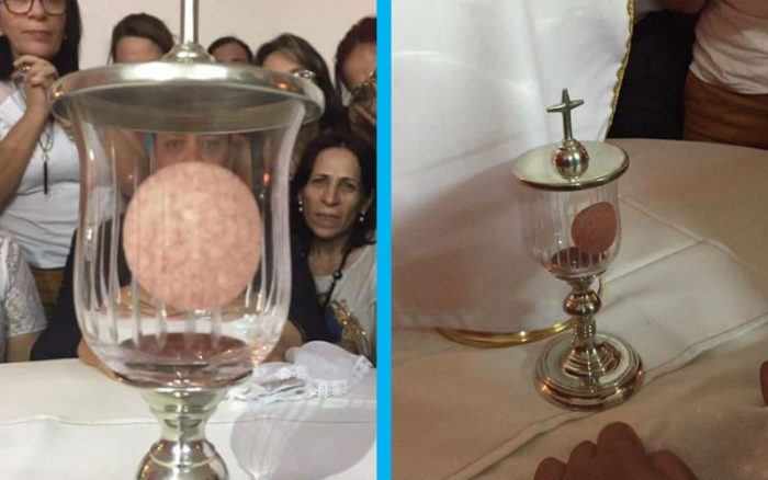 Creating Viral Social Content Was At The Black Heart Of: Photos Of Alleged Eucharistic Miracle In Brazil Go Viral