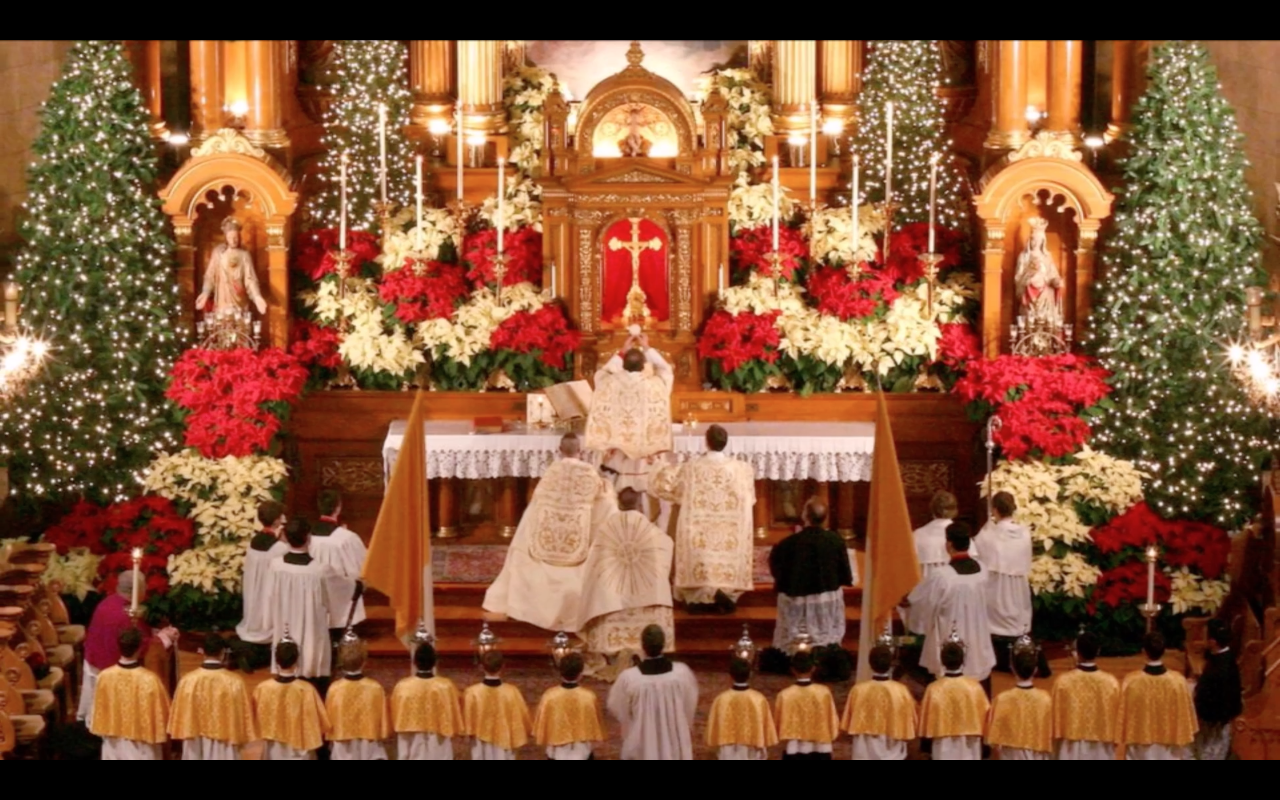 The Most Beautiful Church in the U.S.? Christmas at St. John Cantius ...