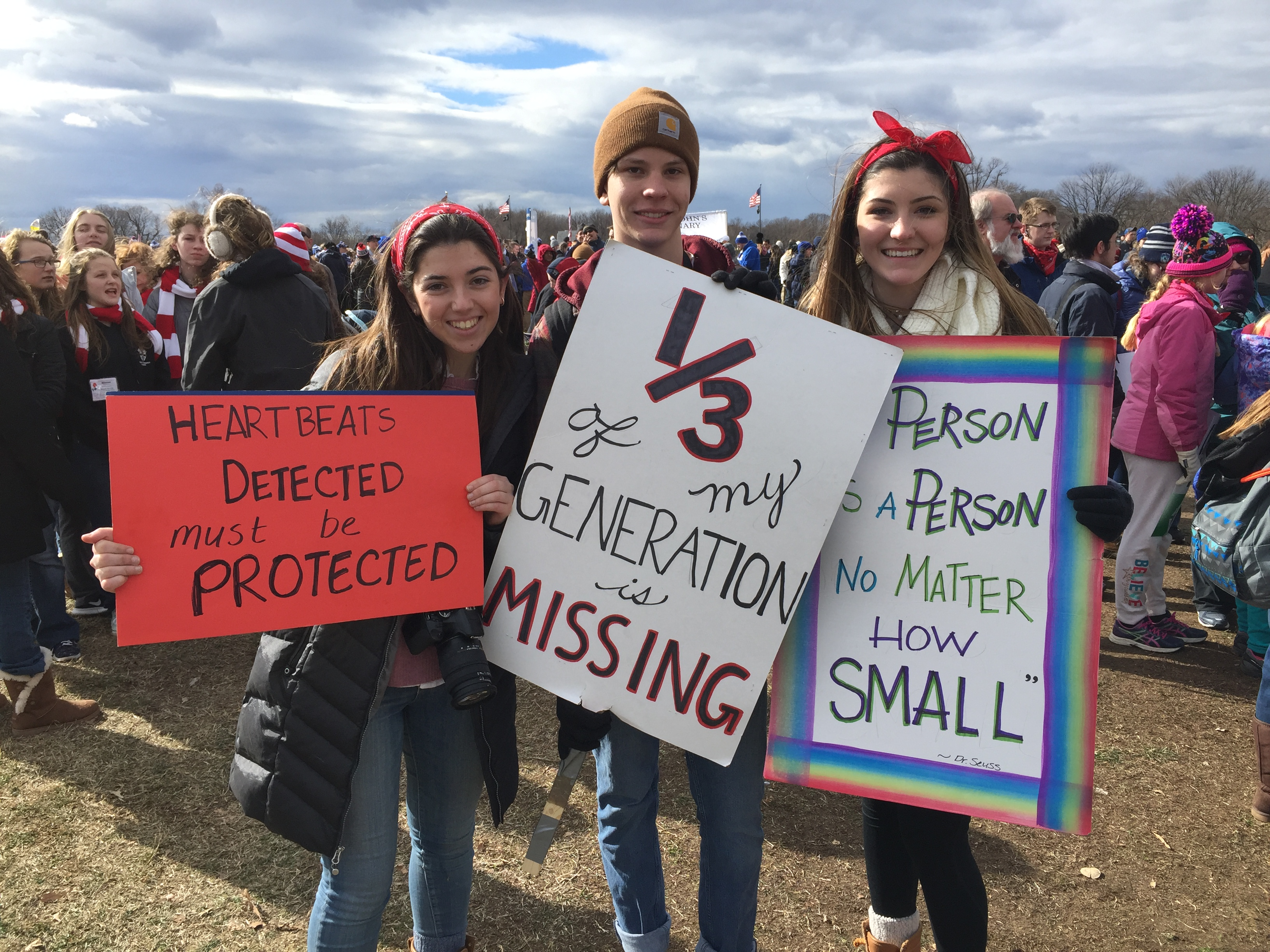 The Best Signs Spotted At The March For Life 2017