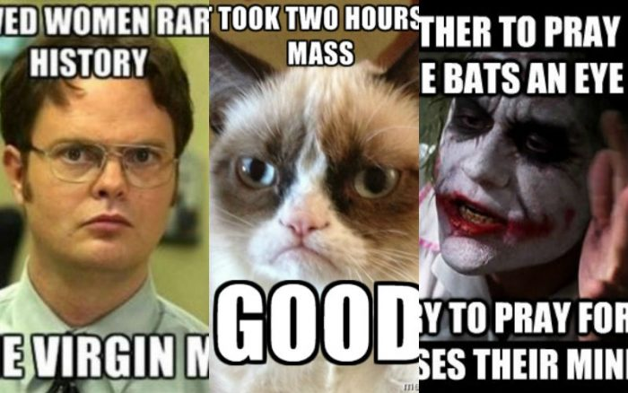 memes 700x438 16 super fun catholic memes that will make your day! churchpop