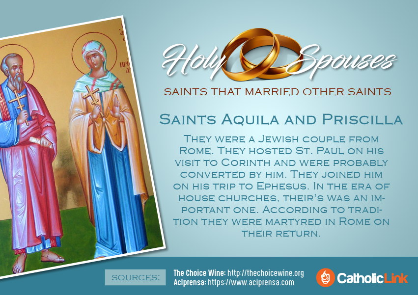 Patron saint for married couples