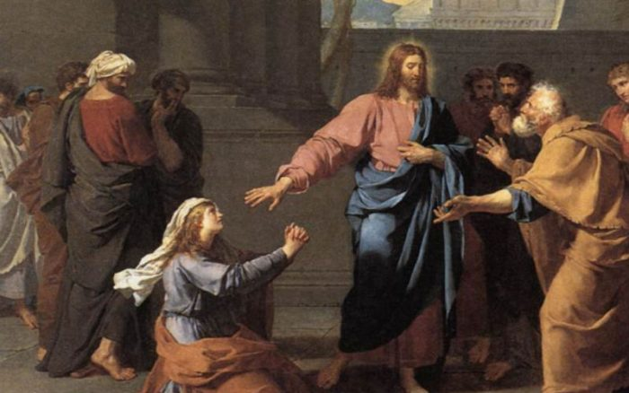 Image result for images of canaanite woman with jesus