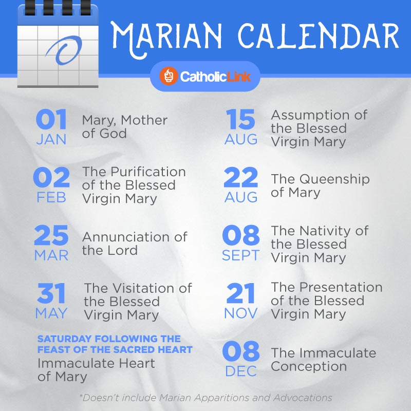 The 10 Most Important Marian Feasts You Should Add to Your ...
