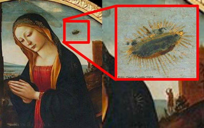 Why Does Medieval Catholic Art Have UFOs? Here's What's