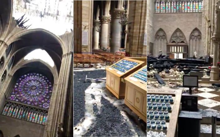 Notre Dame Aftermath Video Reveals Stunning Detail Of
