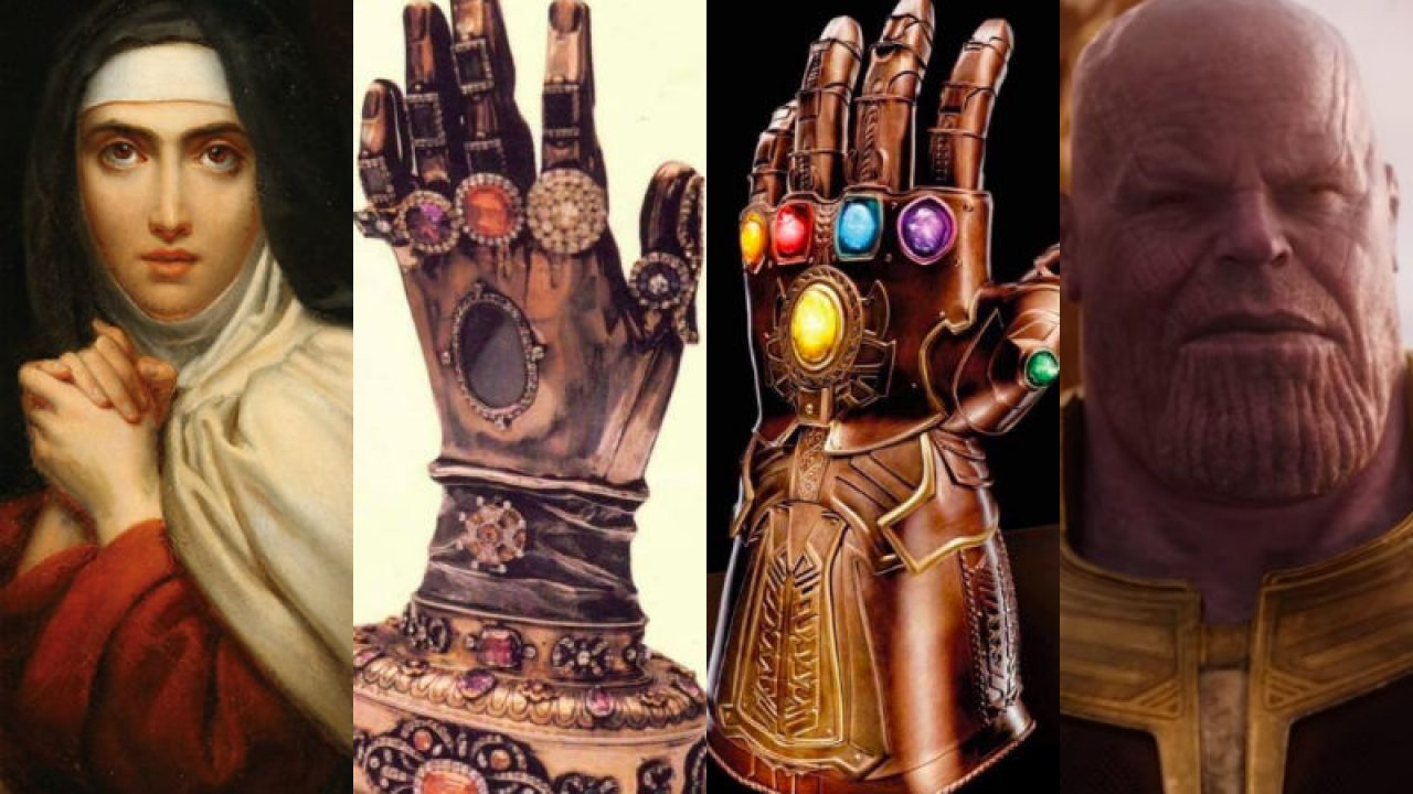 Is the Avengers' Infinity Gauntlet Actually St  Teresa of Avila's